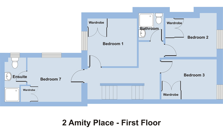 2 Amity Place - First Floor