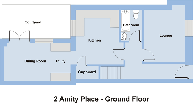 2 Amity Place - Ground Floor