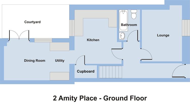 2 Amity Place - Ground Floor