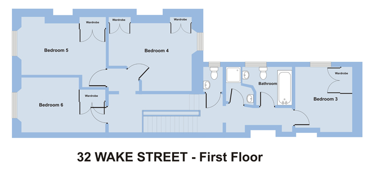 32 Wake Street - 6 bedroom student accommodation Plymouth