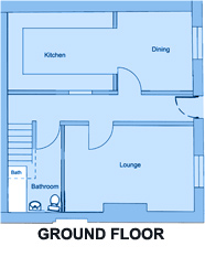 Cornwall House - 7 bedroom student accommodation Plymouth - Floor Plan