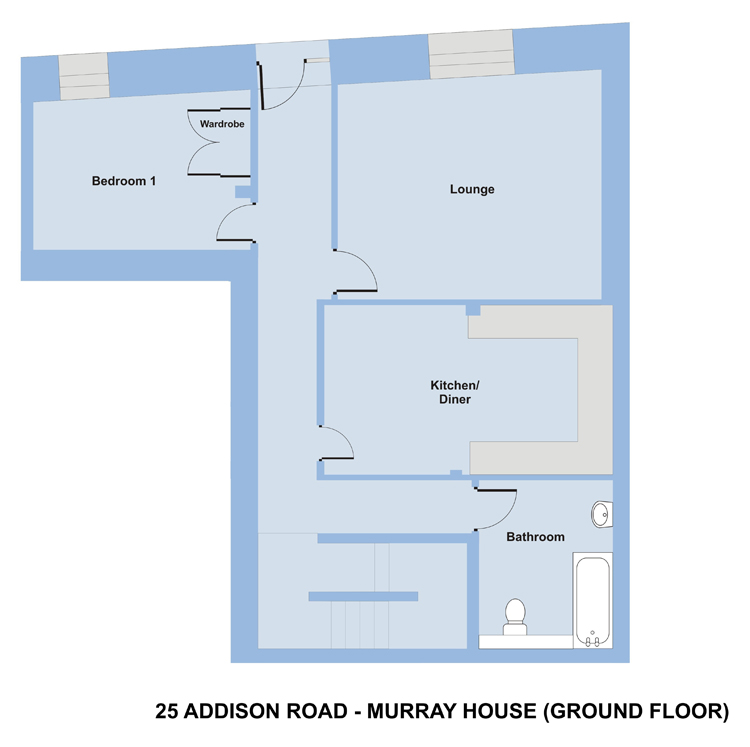 Murray House, 25 Addison Rd, Plymouth - 6 bedroom student accommodation