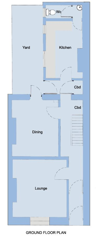 56 North Street - Student Accommodation Plymouth - Floor Plan