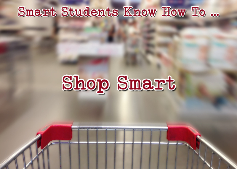 clever students know how to shop smart