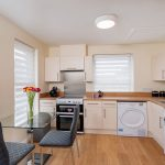 Kitchen in 2 bedroom student flat, plymouth