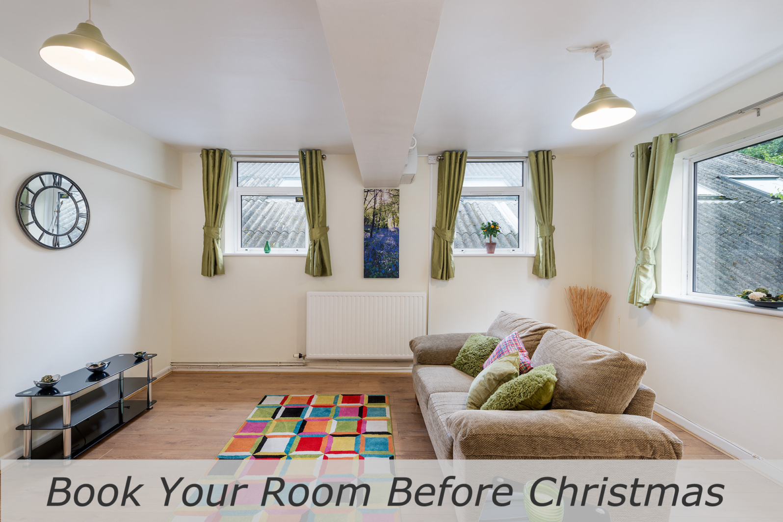 booking student rooms before christmas